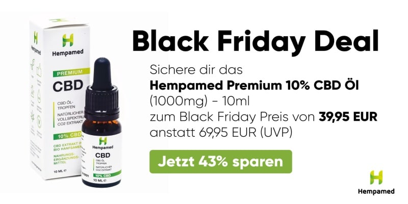Hempamed Black Friday Deal